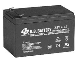 BP 12-12 model 12V-12Ah BB Kuru Akü