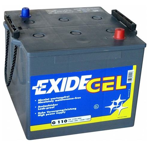 exide g110 110 ah batteries 110ah exide batteries. Black Bedroom Furniture Sets. Home Design Ideas