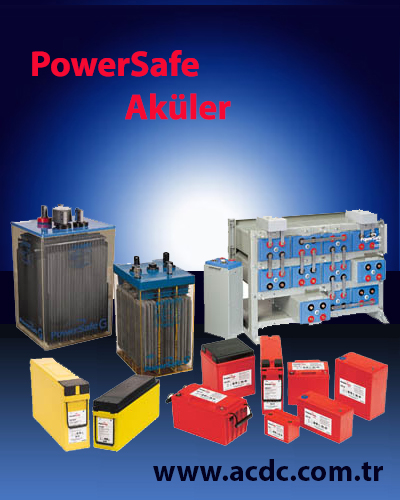 2VE550 model 2V-500Ah Powersafe Akü